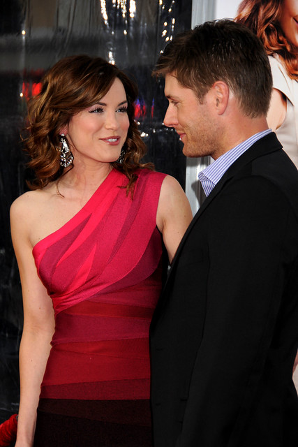 Danneel Harris and Jensen Ackles