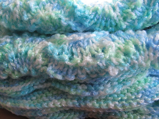 Little Lad Hand-Knitted Ripple Baby Blanket / Afghan Flickr - Photo Sharing!