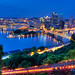 Downtown Pittsburgh at Night from Duqeusne Incline