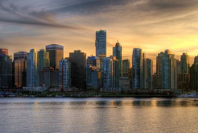 Van City Sunset
