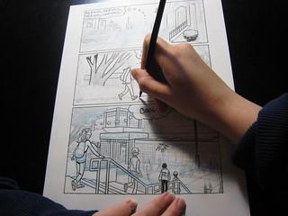 how a graphic novel is born and raised goraina