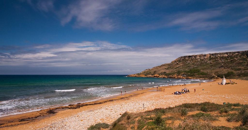 Ramla Bay - пляж