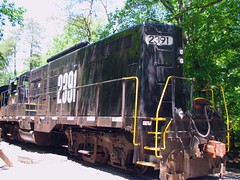 Knoxville & Holston River EMD GP9 Leased to the TVRR Museum