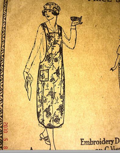 1920s apron pattern