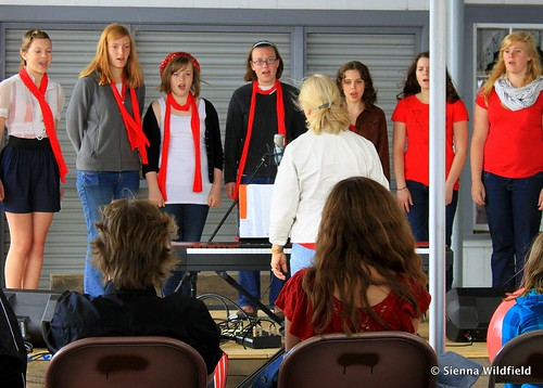 Hampshire Chamber Singers at the Hilltown Spring Festival