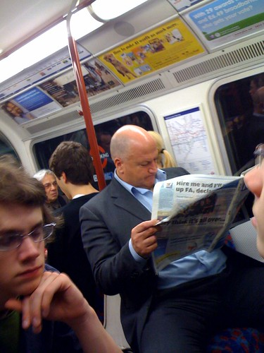 RMT leader Bob Crow on the Tube