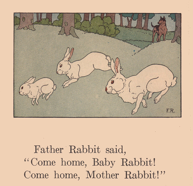Come home, Rabbits! illustrated by Frederick Richardson