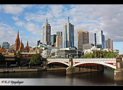 A scene of Yarra river