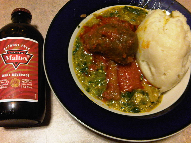 how to make pounded yam