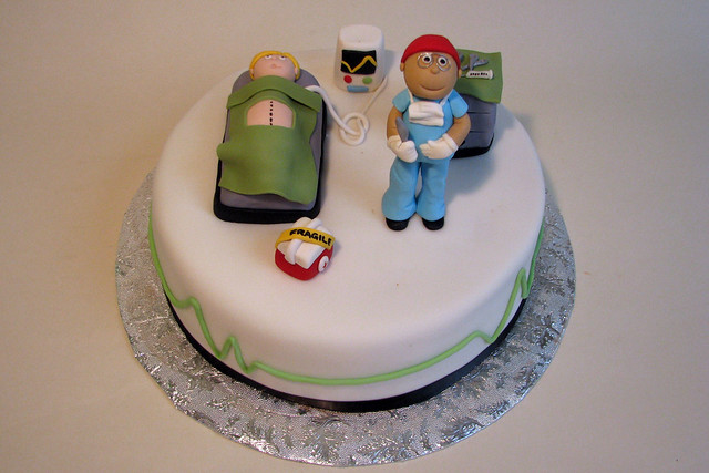 Birthday Cakes Pictures For Doctors : Doctor Cake Flickr - Photo Sharing!