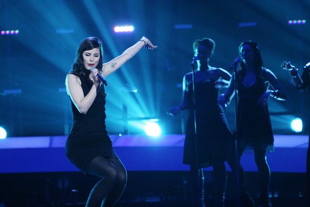 """Tyske Lena Meyer-Landrut vant Eurovision Song Contest i Oslo i 2010 med sangen """"Satelite"""""""