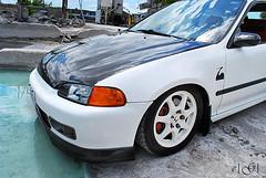 honda cr-x(0.0), honda civic(0.0), automobile(1.0), automotive exterior(1.0), wheel(1.0), vehicle(1.0), rim(1.0), honda cr-x del sol(1.0), bumper(1.0), land vehicle(1.0),