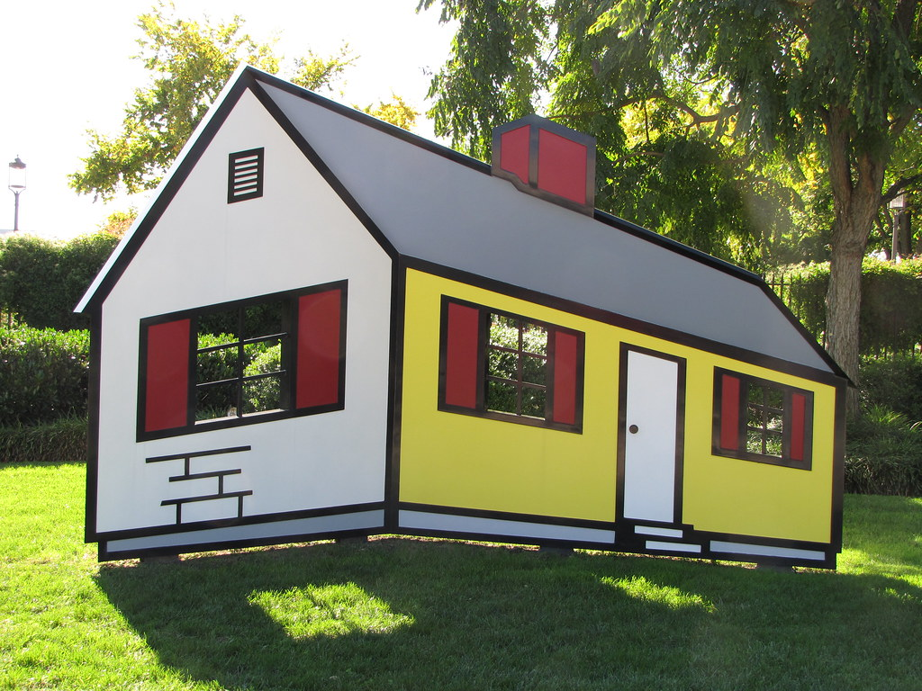 Roy Lichtenstein: House I