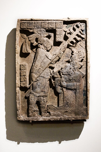 Maya Relief of Royal Blood Letting