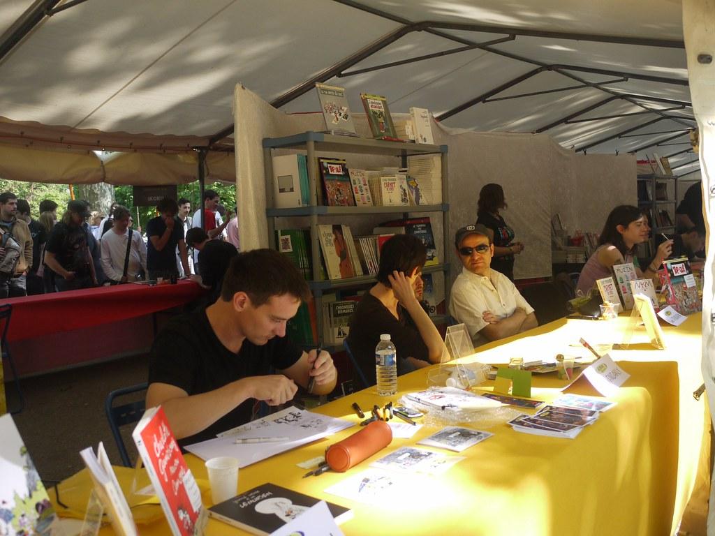 related image - Comédie du Livre 2010 - Vue d'ensemble - P1380866