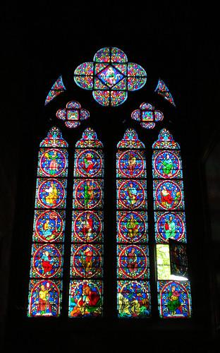 Vetrate a Rosone di Notre Dame de Paris