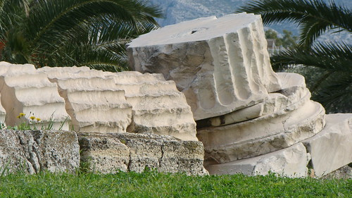Temple of Zeus~Athens by Vasenka
