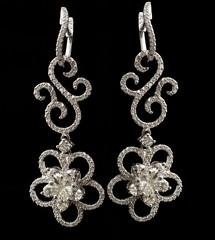 body jewelry, jewellery, diamond, silver, earrings,