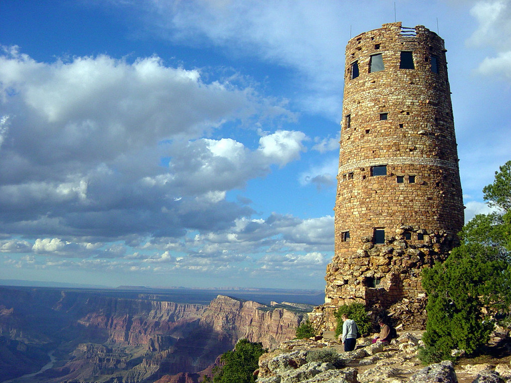 Grand Canyon National Park: Desert View Watchtower D4325