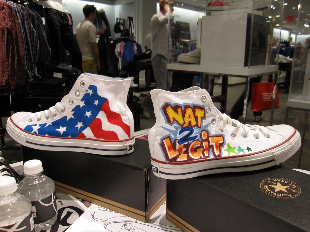 bc8725957a3 Tats Cru x Converse x Saks Fifth Avenue | sneakers painted b… | Flickr