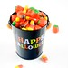 Automn Mix Candy in Happy Halloween Pail