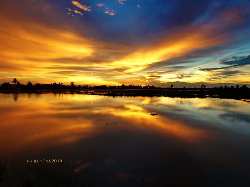 sunset landscape flood senja banjir blueribbonwinner capin xenocapin 918mm