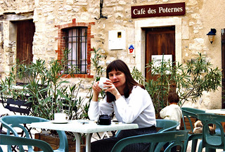 Felicity, Gigondas, France, 1993