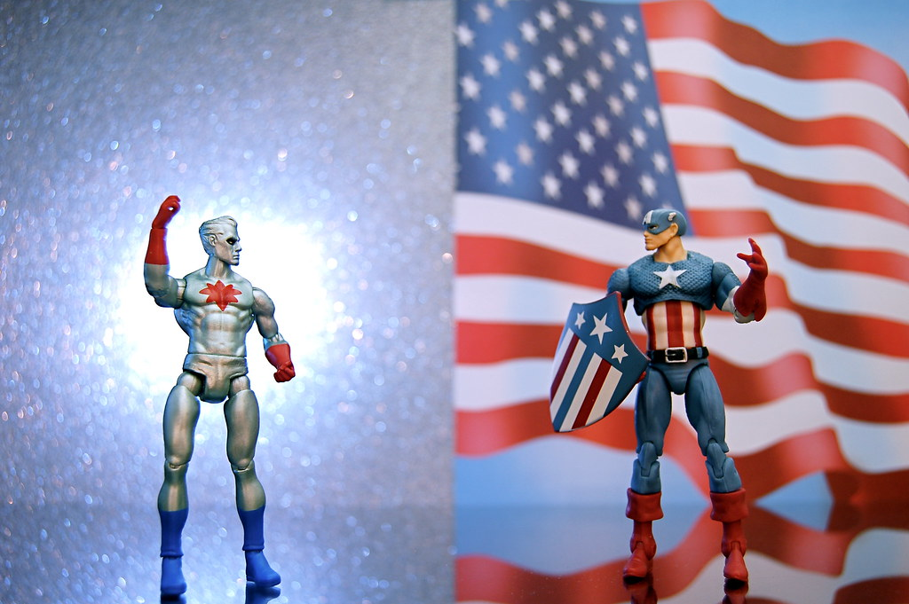 Captain Atom vs. Captain America (315/365)