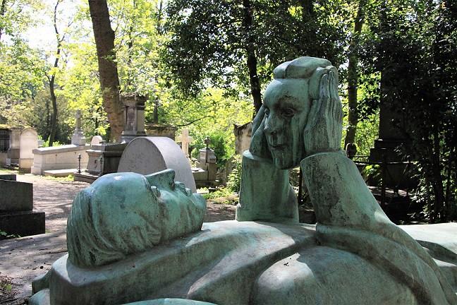 Monumento funerario Cementerio de Père-Lachaise
