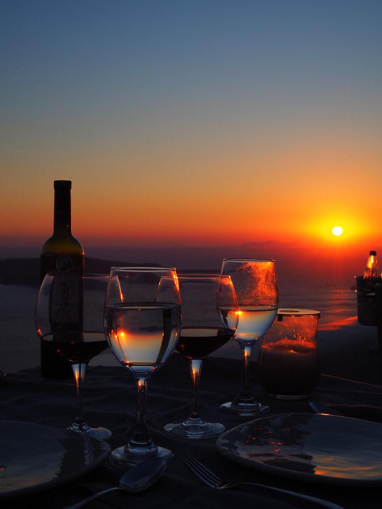 auringonlasku-santorinilla