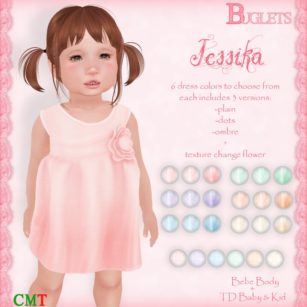 Jessika Dress AD - SecondLifeHub.com