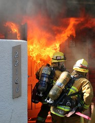 Chatsworth Fire Sends Two LAFD Firefighters to Hospital