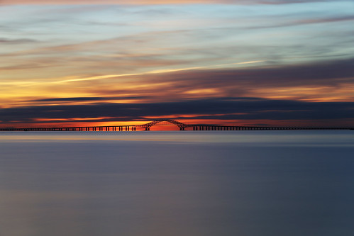 cloudy dawn longisland newyork lee bigstopper nd10 longexposure greatsouthbay robertmosescauseway sunrise rpg90901 civiltwilight goldenhour clouds water sky summer morning neutraldensity bridge bay southshore filter canon 6d canonef70200mmf28lisiiusm canon70200f28lll 2016 april 0629 westbabylon bergenpoint vle
