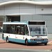 D.Jones YJ05JXX Wrexham bus station 3 July 2017 (1)