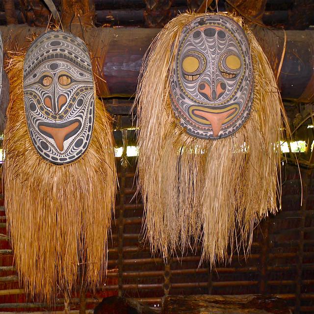 Palambei Village - East Sepik Province -  Papua New Guinea