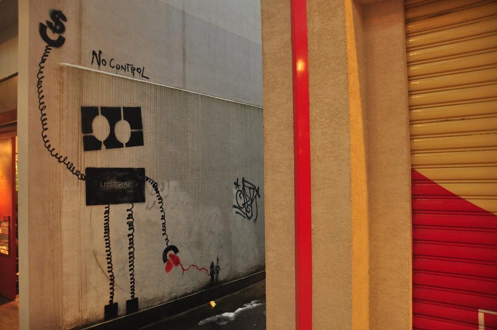 Graffiti in Niigata