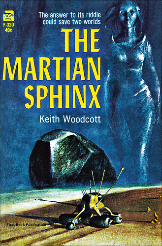 """The Martian Sphinx"" by John Brunner as Keith Woodcott"