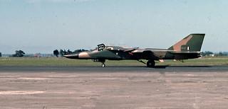 RAAF F-111, Ohakea, New Zealand, 1975