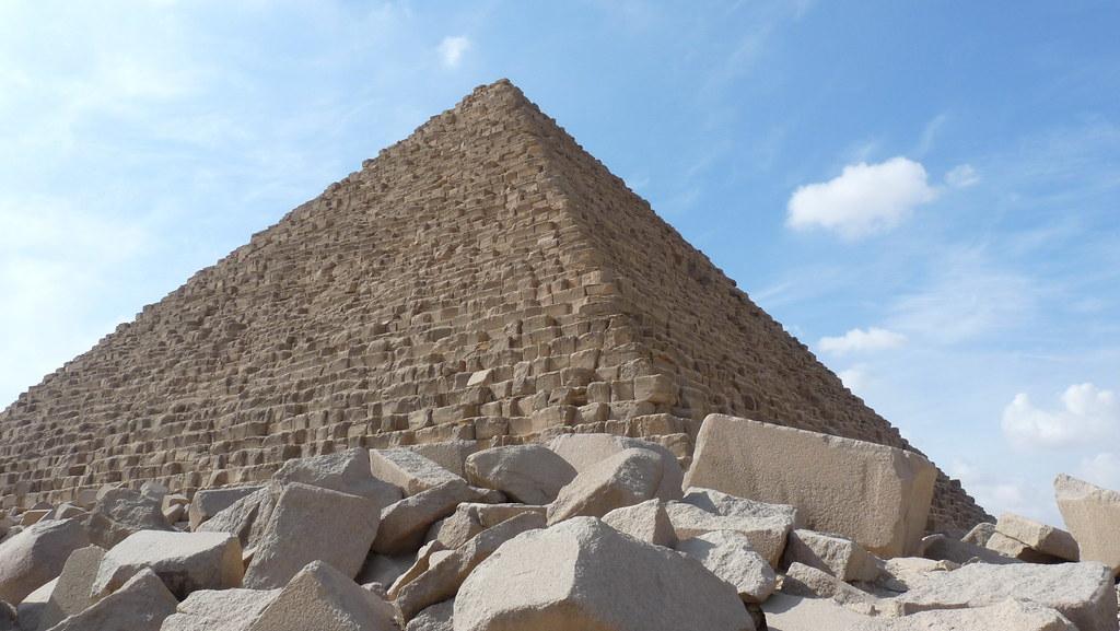 Piràmide Micerinos GIZA - El Caire