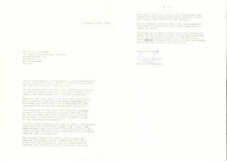 1969-01-13: Brev fra ordfører Odd Sagør til G. A. v.d. Meer (1969)