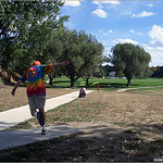 Jay Burghardt on hole# 3 at Widefield Park.
