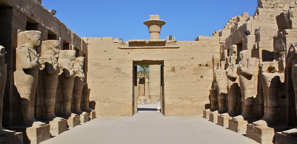 Templo de Karnak, Egipto. Foto: Kyle Taylor