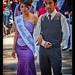 Senorita fotogenica, Independence parade, Quetzaltenango, Guatemala