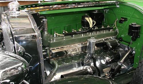 green car vintage engine victoria chrome motor packard 1929 immaculate kumeu straighteight kumeushowgrounds kumeucarshow fep695 annualkumeuclassiccaramphotrodfestival
