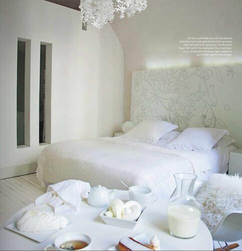 Interieur en design tips op maagdelijk witte slaapkamer - Interieur slaapkamer ...