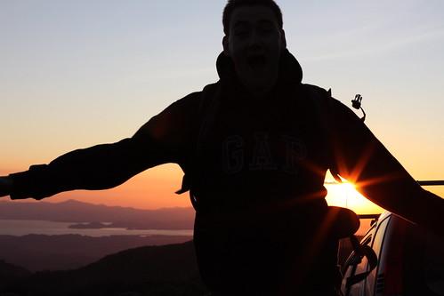 sunset costarica monteverde peninsula nicoya lawrencerigby