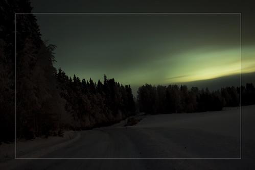 road longexposure trees winter sky snow tree nature night canon suomi finland evening countryside scenic talvi 2010 lappeenranta 50d canonef24105mmf4lisusm magicunicornverybest