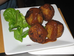 delicious pumpkin risotto balls