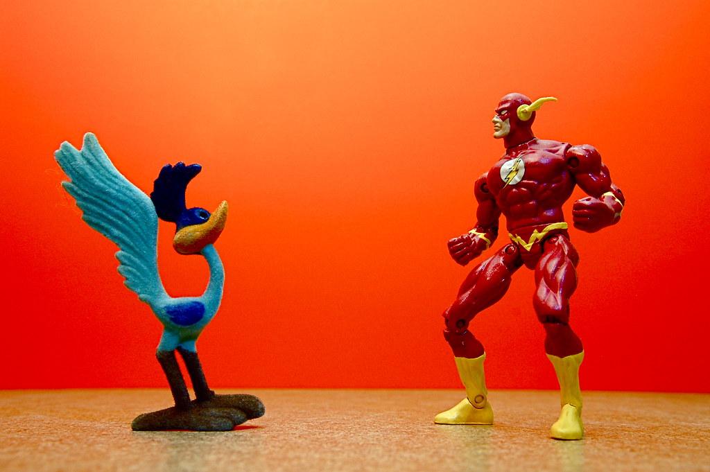 Road Runner vs. The Flash (48/365)