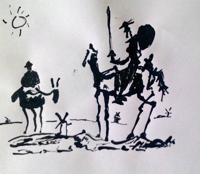 the concept of schizophrenia in the character of don quixote When approaching cervantes's don quixote from a cognitive historicist perspective  an example would be to talk about the nineteenth-century concept of.